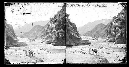 Nankow Pass North China by John Thomson. Nankow pass, Pechili province, China. Photograph by John Thomson, 1871. Contributors: J Thomson. Work ID: pvc8tm3y.