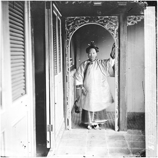 Cantonese woman, China by John Thomson. Canton (Guangzhou), Kwangtung province, China: a Cantonese woman. Photograph by John Thomson, 1869. Contributors: J Thomson. Work ID: xf45w72g.