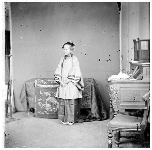 Hong Kong: a Cantonese lady by John Thomson, 1869–1871. Hong Kong: a Cantonese lady. Photograph by John Thomson, 1869–1871. Contributors: J Thomson. Work ID: bze7auxr.