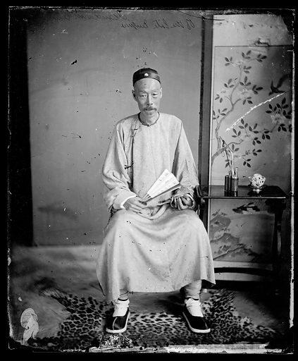 Chinese merchant mandarin by John Thomson. China. Photograph by John Thomson, 1869. Contributors: J Thomson. Work ID: dumue24y.