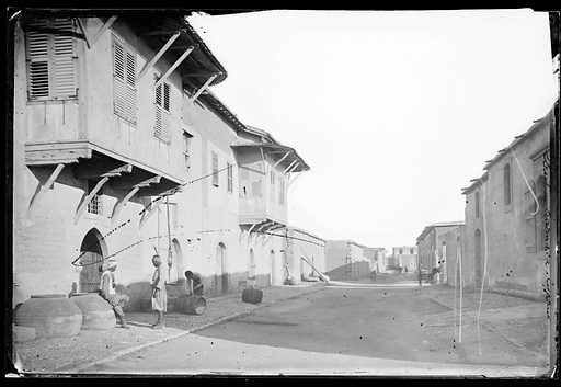 Street in Larnaca, Cyprus. Larnaca, Cyprus. Photograph by John Thomson, 1878. Contributors: J Thomson. Work ID: ed48axd6.