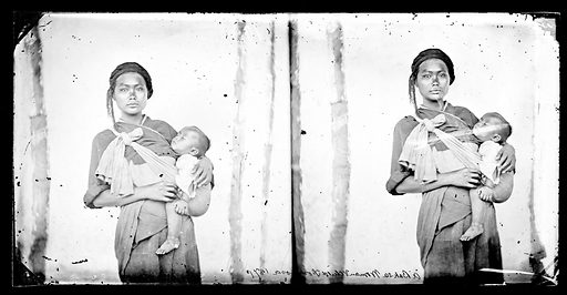 A Baksa woman and child, Formosa 1871. Baksa, Formosa [Taiwan]. Photograph by John Thomson, 1871. Contributors: J Thomson. Work ID: a4ebghhk.