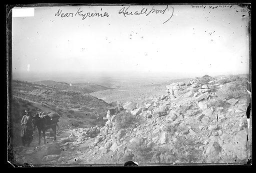 Nicosia road to Kyrenia. Nicosia, Cyprus. Photograph by John Thomson, 1878. Contributors: J Thomson. Work ID: hchvdynd.