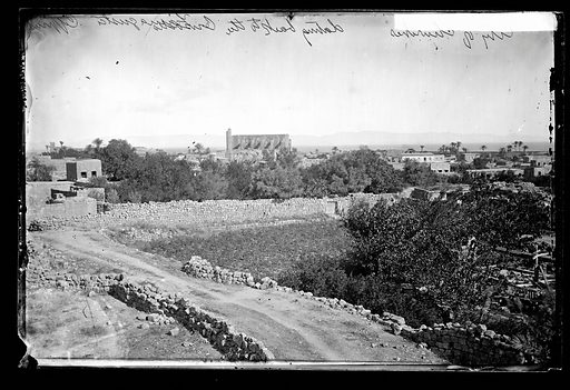 A distant view of Famagusta, Cyprus. Famagusta, Cyprus. Photograph by John Thomson, 1878. Contributors: J Thomson. Work ID: bg73je9n.