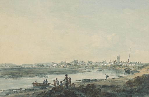 Cardiff from the South. Date: 1784–1794. Culture: British. Accession number: B1975.4.1929.