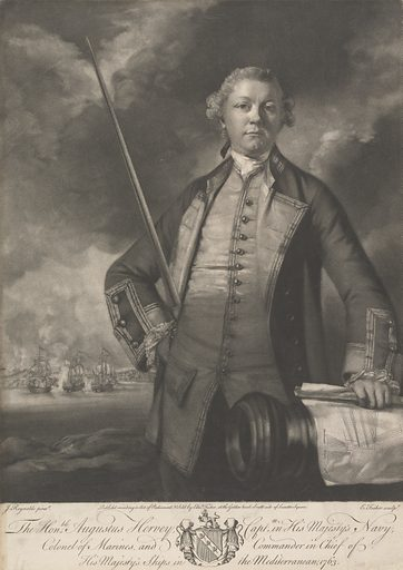 The Honorable Augustus Hervey, Captain in his Majesty's Navy. Augustus John Hervey, 3rd Earl of Bristol. Date: 1763. Accession number: B1977.14.12848.