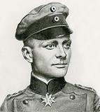 Lieutenant Manfred von Richtofen, the Red Baron