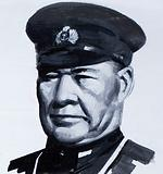 Osami Nagumo, commander-in-chief of the Imperial Japanese Navy