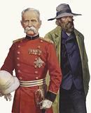 Boer War: Lord Roberts and Pier Cronje