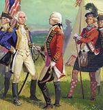 Surrender of Lord Cornwallis to George Washington