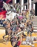 Sack of Rome by Alaric and the Visigoths, 410