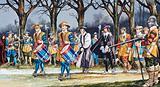 Charles I's last walk