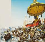 Mansa Musa, ruler of the Islamic Mali Empire of West Africa