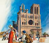 Abbot Suger and the Building of the Abbey of St Denis (probably)