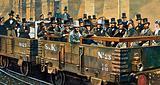 Construction of First Underground Railway