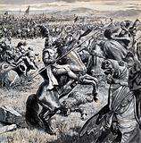 Battle of Bannockburn, Scotland, 1314