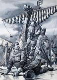 William the Conqueror falls at Hastings