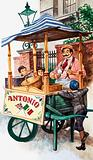Victorian ice-cream seller