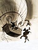 Great Beginnings: Bag of Smoke Began the Story of Flight