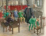 Punishment at school in the Tudor Age
