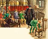 Once Upon a Time… Punishment at school in the Tudor Age