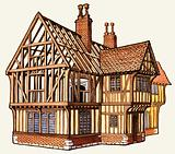 The Wonderful Story of Britain: Building a Tudor House