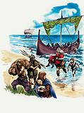 The Wonderful Story of Britain: The Saxons Settle in Britain