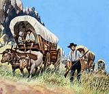 The Overland Stage: Outlaws and Indians