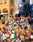 Gandhi's non-violent resistance