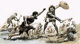 Unidentified early British (?) battle