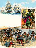 Scrapbook of the British Sailor: Privateers and Pirates
