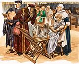 Doctors and hospitals in Tudor times