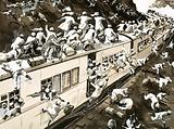 Attack on an Indian train during the 1947