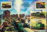Midland Railway freight depot, Nottingham, 1920s