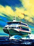 Jetfoil P&O ferry