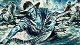 """Alligator"" Davis earns his nickname"