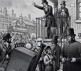William Booth preaching in the open air