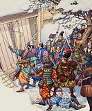 The Forty-Seven Ronin, legendary band of Japanese samurai warriors