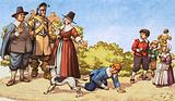 Playing games in Puritan London