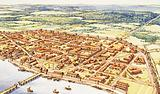 Aerial View of Roman London
