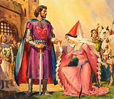 King Arthur and Guinevere