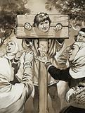 It's the Law - the pillory