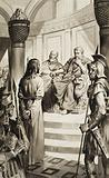 Christ in front of Pontius Pilate