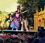 Maria Petipa dancing