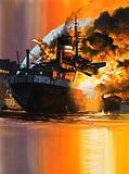 Blazing Ship
