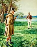 The Duke of Wellington's and Lord Winchelsea's duel