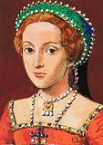 Queen Elizabeth, as a young woman