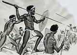 Aborigines under attack