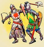 Early 14th century knights