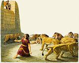 Daniel in Lions' Den